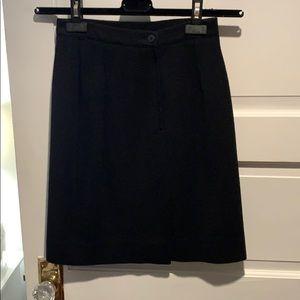 Giorgio Armani  Black Suit Skirt